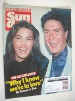 <!--1985-12-15-->Sunday magazine - 15 December 1985 - Simon and Yasmin Le Bon cover