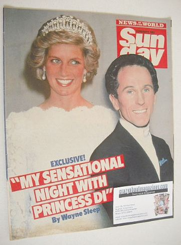 <!--1986-02-09-->Sunday magazine - 9 February 1986 - Wayne Sleep and Prince