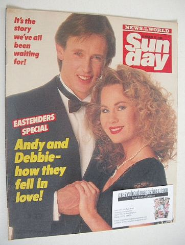 <!--1986-02-23-->Sunday magazine - 23 February 1986 - Shirley Cheriton and