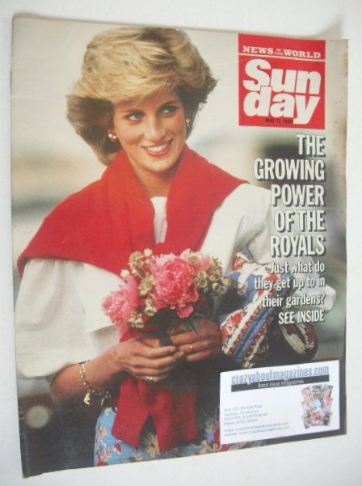 <!--1986-05-11-->Sunday magazine - 11 May 1986 - Princess Diana cover