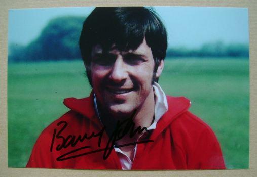 Barry John autograph