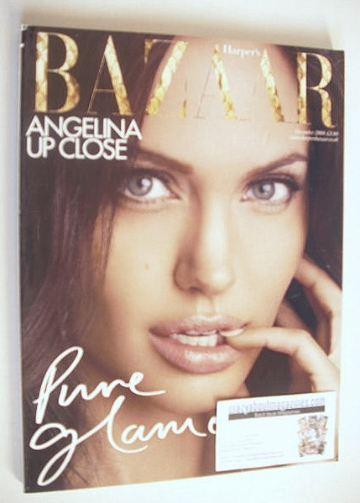 <!--2008-12-->Harper's Bazaar magazine - December 2008 - Angelina Jolie cov