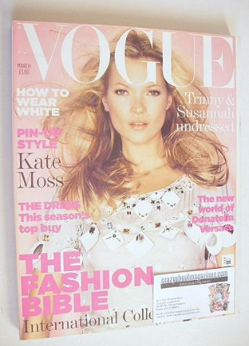 <!--2006-03-->British Vogue magazine - March 2006 - Kate Moss cover