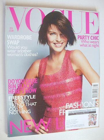 <!--1999-02-->British Vogue magazine - February 1999 - Milla Jovovich cover
