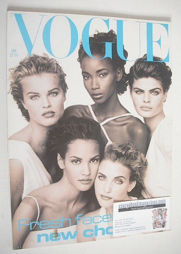 <!--1992-01-->British Vogue magazine - January 1992