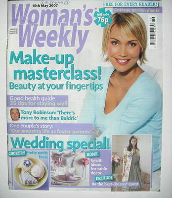<!--2007-05-15-->Woman's Weekly magazine (15 May 2007 - British Edition)
