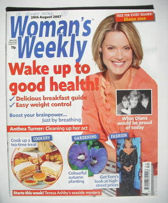 <!--2007-08-28-->Woman's Weekly magazine (28 August 2007 - British Edition)