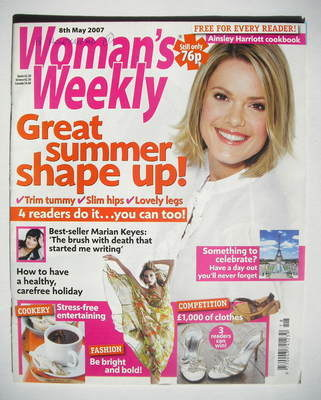 <!--2007-05-08-->Woman's Weekly magazine (8 May 2007 - British Edition)