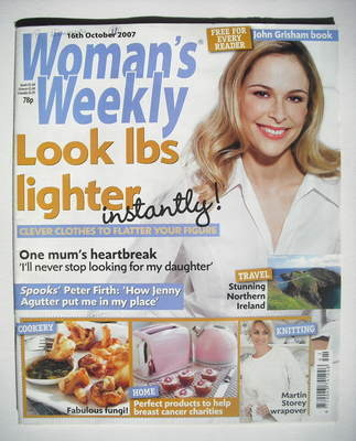 <!--2007-10-16-->Woman's Weekly magazine (16 October 2007 - British Edition