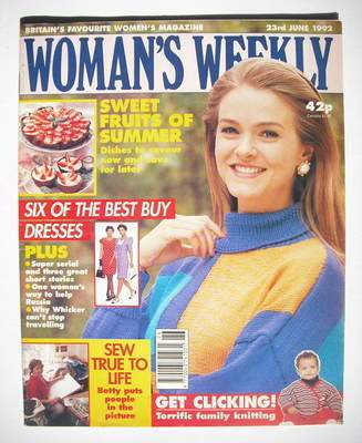 <!--1992-06-23-->Woman's Weekly magazine (23 June 1992)