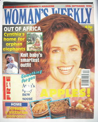 <!--1992-09-29-->Woman's Weekly magazine (29 September 1992)