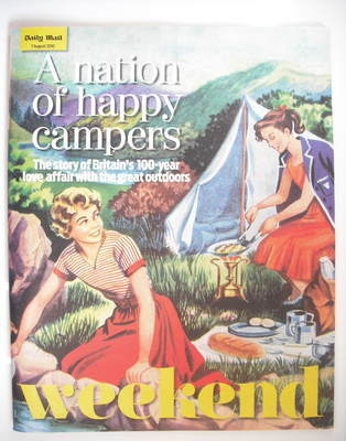 Weekend magazine - Happy Campers cover (7 August 2010)