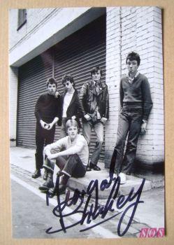Feargal Sharkey autograph