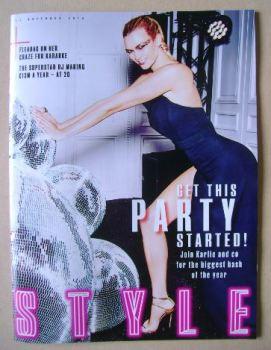 Style magazine - Karlie Kloss cover (13 November 2016)