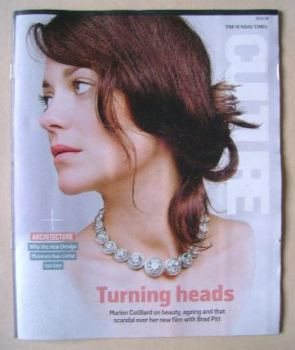 Culture magazine - Marion Cotillard cover (13 November 2016)