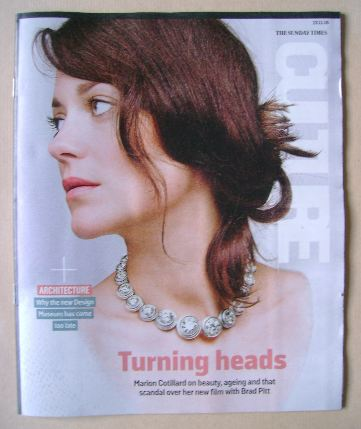 <!--2016-11-13-->Culture magazine - Marion Cotillard cover (13 November 201