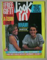 <!--1984-09-29-->Look In magazine - Wham! cover (29 September 1984)