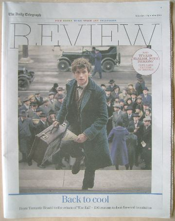 The Daily Telegraph Review newspaper supplement - 3 September 2016 - Eddie