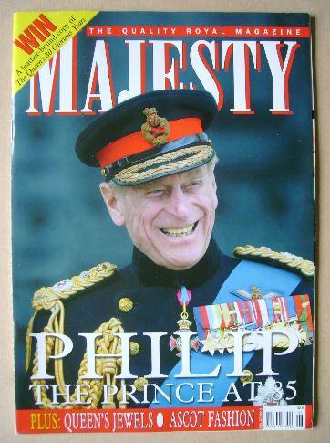 <!--2006-06-->Majesty magazine - Prince Philip cover (June 2006 - Volume 27