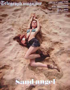 <!--2010-07-03-->Telegraph magazine - Sand Angel cover (3 July 2010)