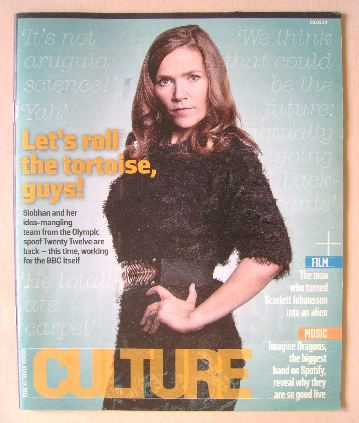 <!--2014-03-09-->Culture magazine - Jessica Hynes cover (9 March 2014)