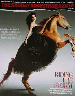 <!--2005-07-10-->The Sunday Times magazine - Nancy Dell'Olio cover (10 July