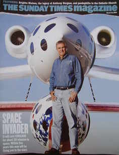 <!--2005-03-13-->The Sunday Times magazine - Space Invader cover (13 March