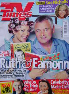 <!--2010-07-17-->TV Times magazine - Ruth Langsford and Eamonn Holmes cover