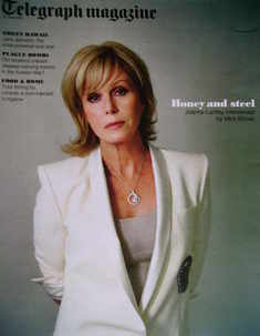 <!--2010-06-12-->Telegraph magazine - Joanna Lumley cover (12 June 2010)