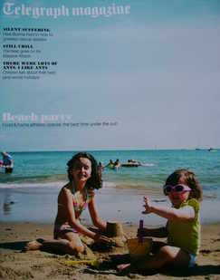 <!--2010-07-10-->Telegraph magazine - Beach Party cover (10 July 2010)