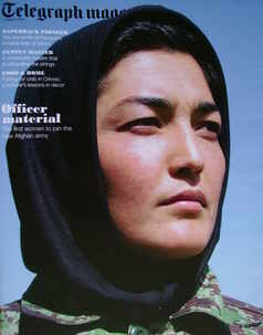 <!--2010-08-07-->Telegraph magazine - Habiba Sayed cover (7 August 2010)