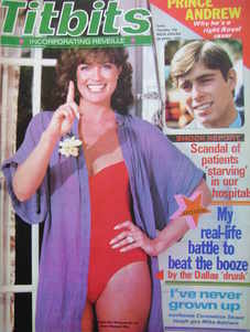 <!--1980-04-26-->Titbits magazine - Linda Gray cover (26 April 1980)