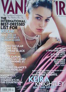 <!--2004-04-->Vanity Fair magazine - Keira Knightley cover (April 2004)