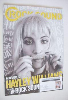 Rock Sound magazine - Hayley Williams cover (Summer 2016)