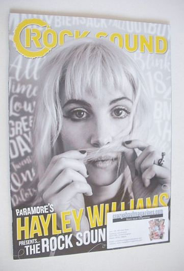 <!--2016-08-->Rock Sound magazine - Hayley Williams cover (Summer 2016)