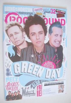 Rock Sound magazine - Green Day cover (November 2016)