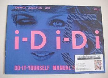 i-D magazine - Lady Di cover (July 1981 - No 5)