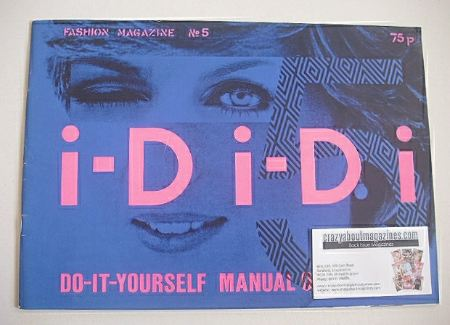 <!--1981-07-->i-D magazine - Lady Di cover (July 1981 - No 5)