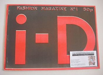 i-D Magazine Back Issues  Old Magazines For Sale