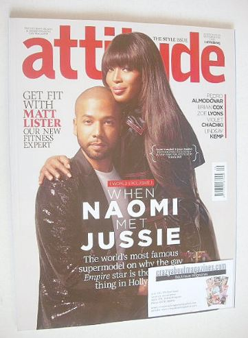 <!--2016-09-->Attitude magazine - Naomi Campbell and Jussie Smollett cover