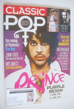 Classic Pop magazine - Prince cover (June/July 2016)
