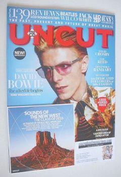 Uncut magazine - David Bowie cover (October 2016)
