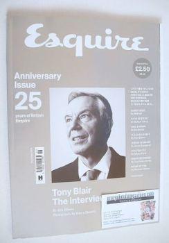 Esquire magazine - Tony Blair cover (November 2016)