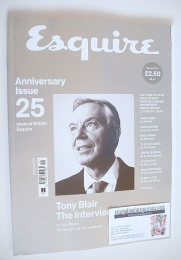 <!--2016-11-->Esquire magazine - Tony Blair cover (November 2016)