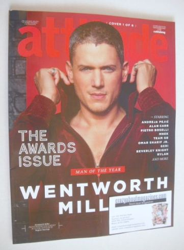 <!--2016-11-->Attitude magazine - Wentworth Miller cover (November 2016)