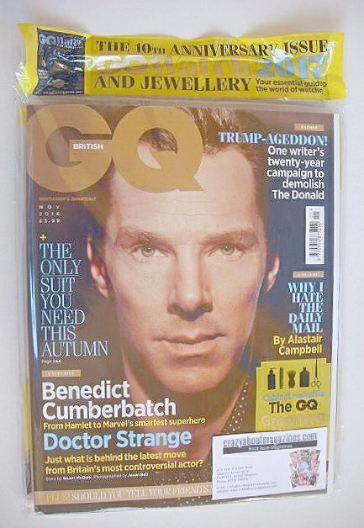 <!--2016-11-->British GQ magazine - November 2016 - Benedict Cumberbatch co