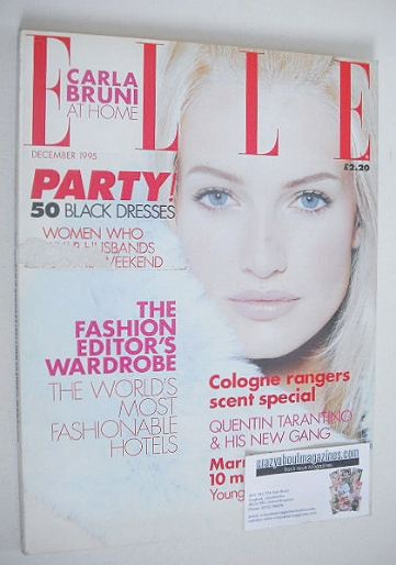 <!--1995-12-->British Elle magazine - December 1995 - Karen Mulder cover