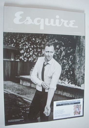 <!--2016-06-->Esquire magazine - Tom Hiddleston cover (June 2016 - Subscrib