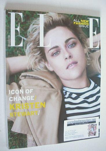 <!--2016-09-->British Elle magazine - September 2016 - Kristen Stewart cove
