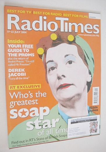 <!--2004-07-17-->Radio Times magazine - Jean Alexander cover (17-23 July 20